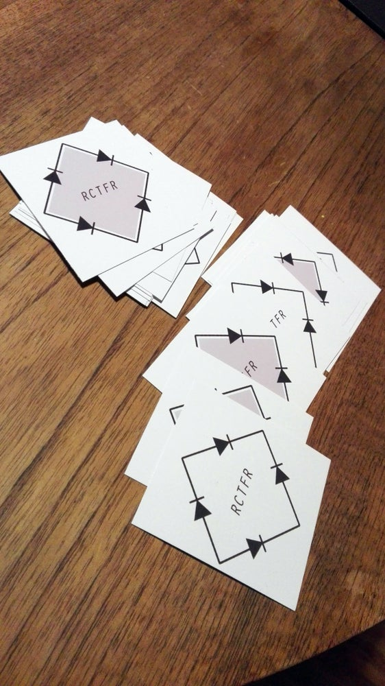 Image of Rectifier Stickers