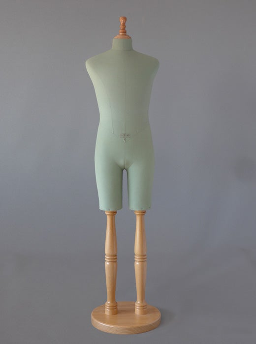 Image of Male Bust with legs (tailor dummy)