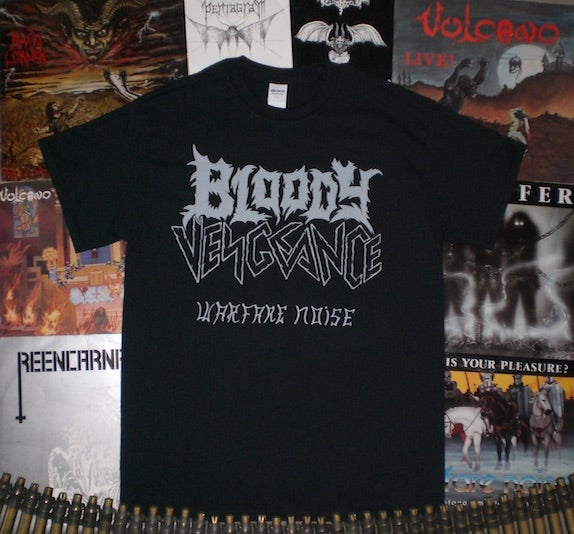 "Image of BLOODY VENGEANCE T-Shirt ""Warfare Noise"""
