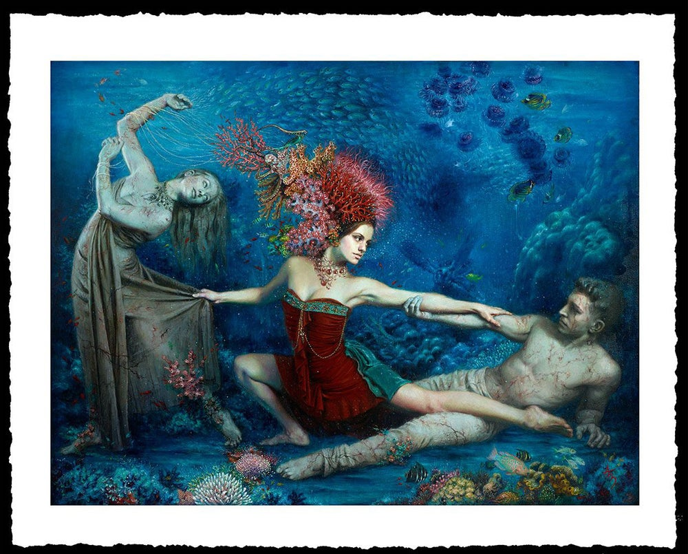 Image of Alexandra Manukyan 'When the Waters Rise'  Giclée Fine Art Print