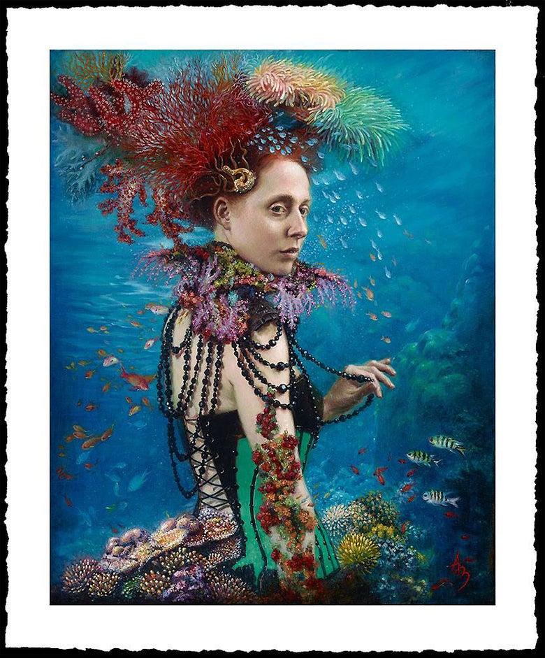 Image of Alexandra Manukyan 'Adaptatia'  Giclée Fine Art Print