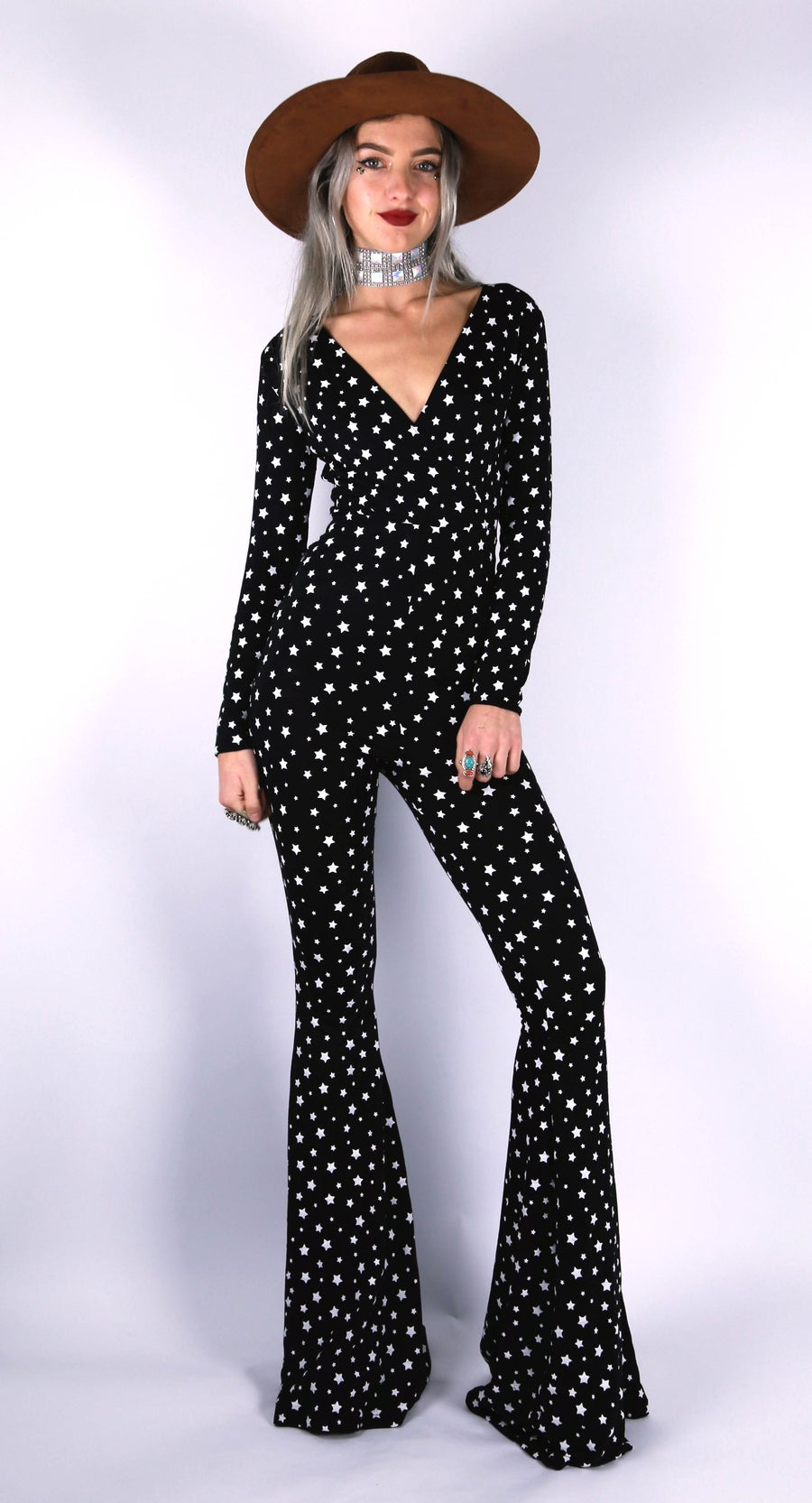 Image of Band of Stars Jumpsuit