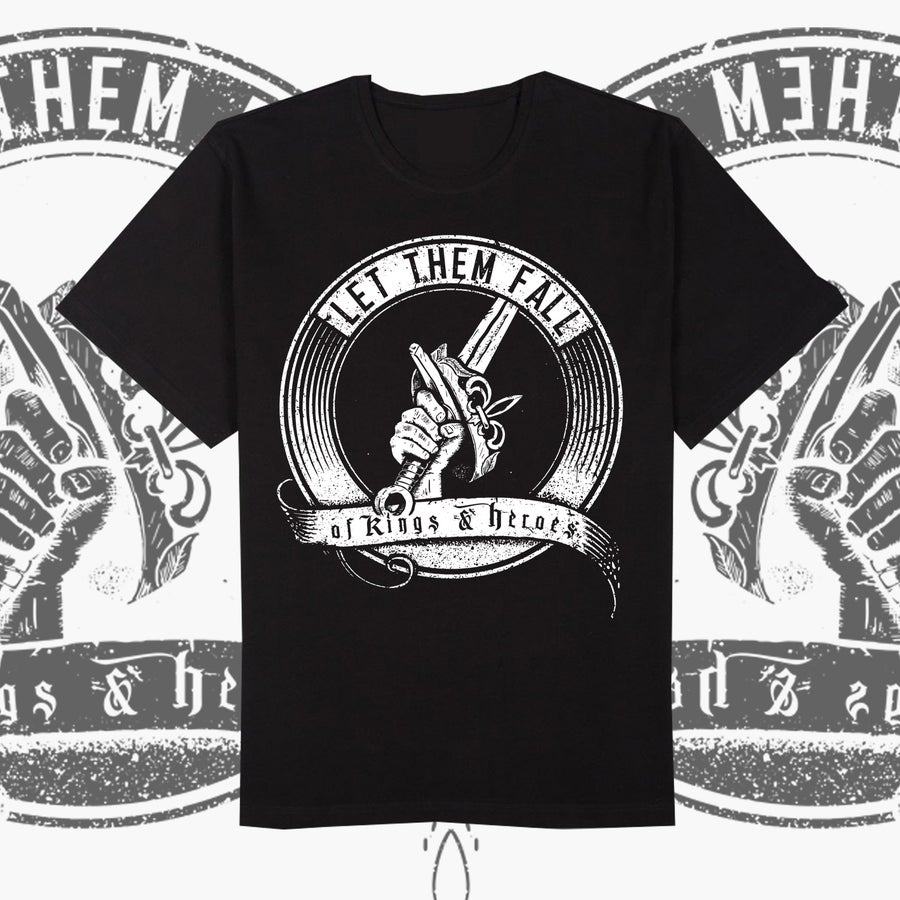 "Image of T-SHIRT ""OF KINGS & HEROES"""