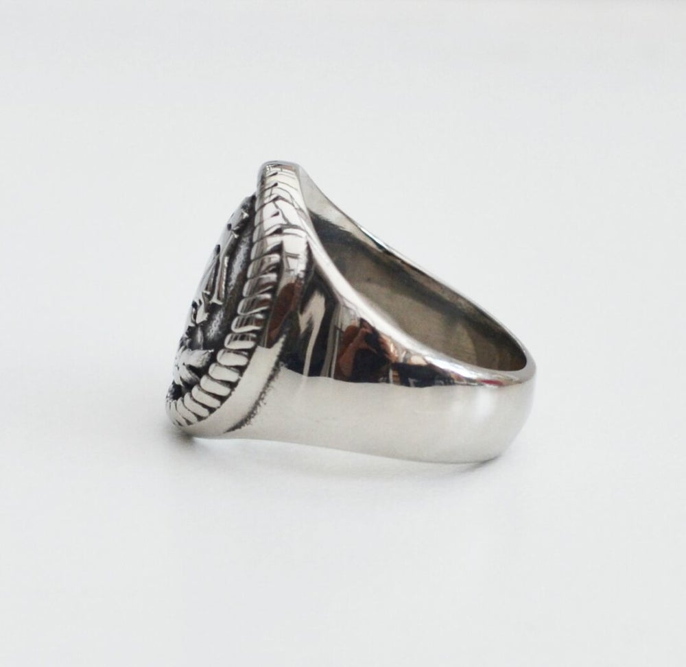 Image of Hold Fast Signet Ring