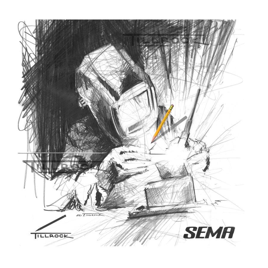 "Image of ""Welder"" SEMA Show Print"