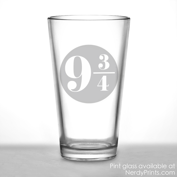 Image of Platform 9 & 3/4 Pint Glass