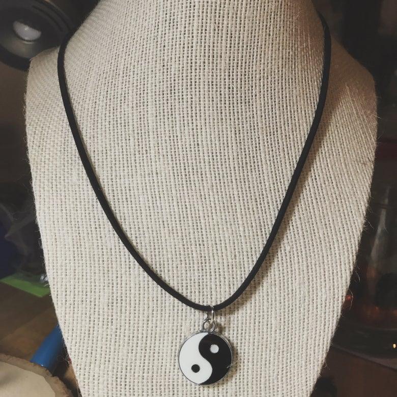 """Image of Yin yang 18"""" Necklace"""