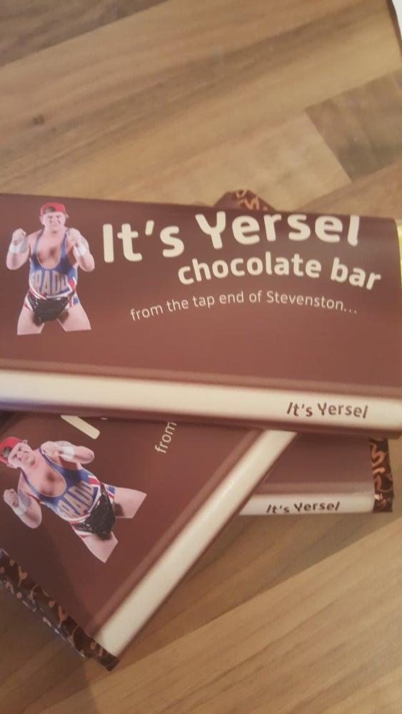Image of It's Yersel! Chocolate Bar