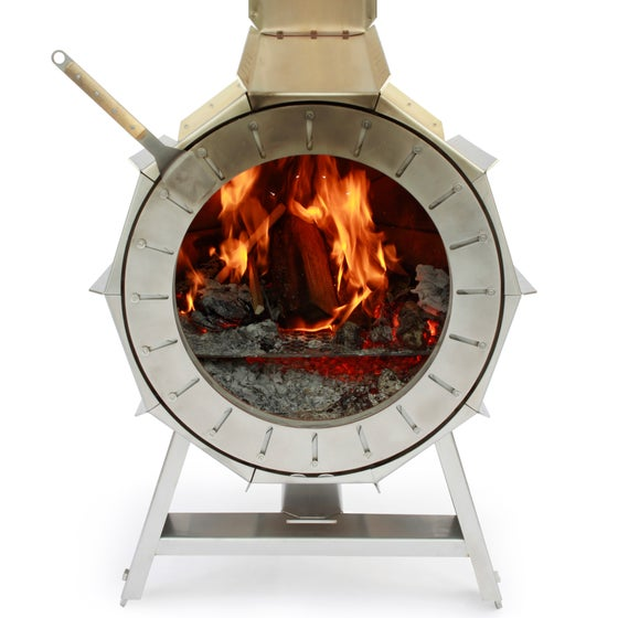 Image of spruce stove