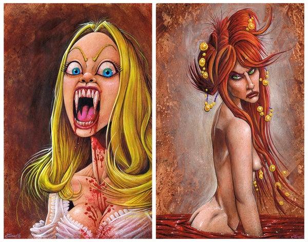 Image of 'Killer Babe' Art Poster Package