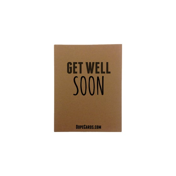 Image of Get well soon (6 pack)