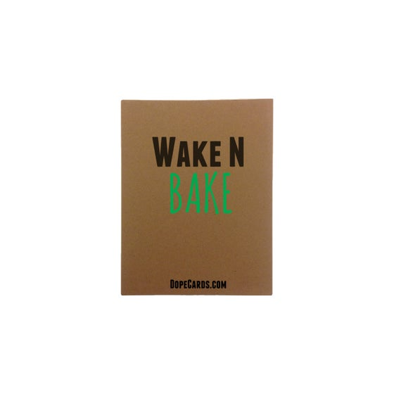 Image of Wake N bake (6 cards)