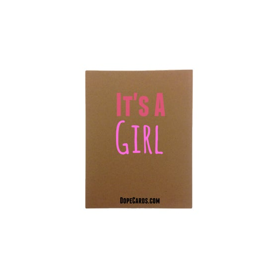 Image of It's a Girl (6 cards)