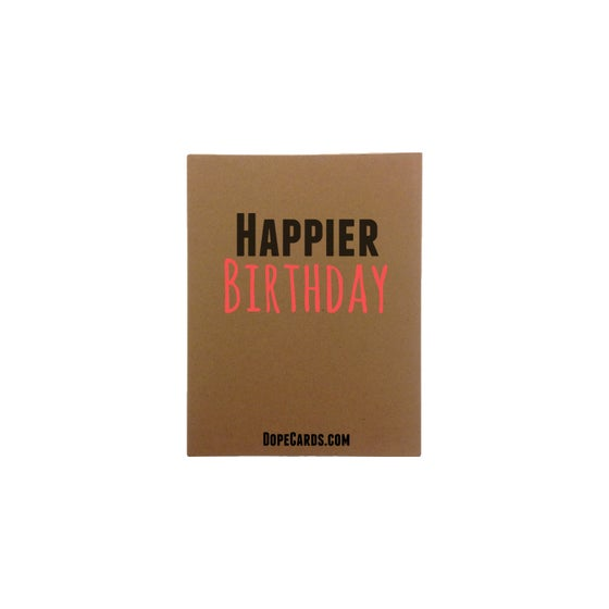 Image of Happier BIRTHDAY! (6 cards)