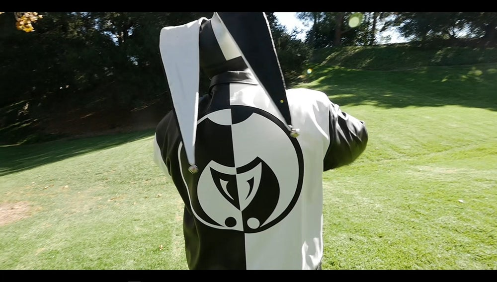 Image of Black and White Legacy Seal Jokerr Jacket