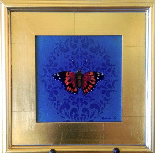 Image of Kamehameha Butterfly (Pulelehua, 8 in x 8 in)