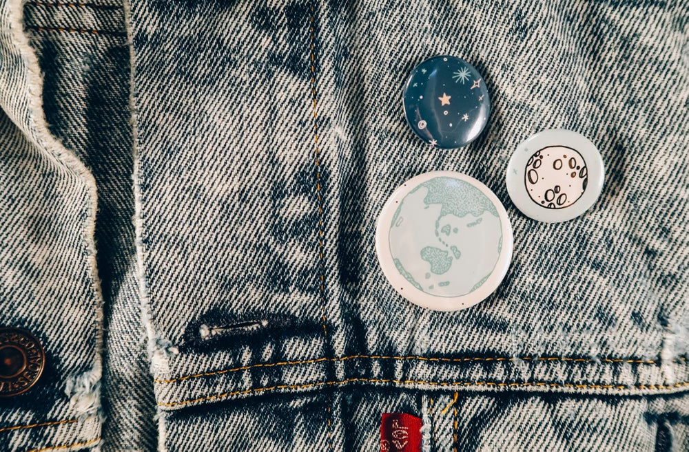Image of Stars and Moon Pins