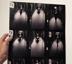 Image of Vampira Film Strip Poster 13x19 inches