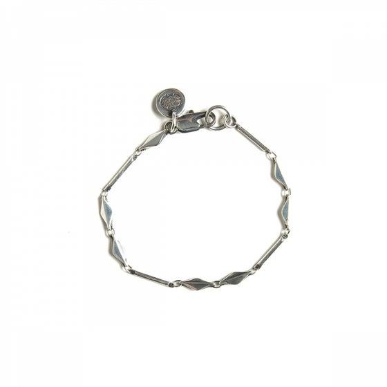 Image of Bracelet GABRIEL plaqué argent