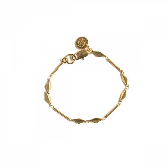 Image of Bracelet GABRIEL plaqué or
