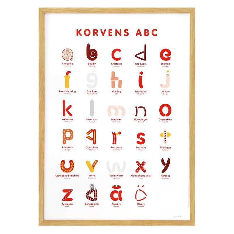 Image of Korvens ABC (affisch)