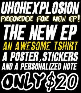 Image of THE NEW EP: Package #2