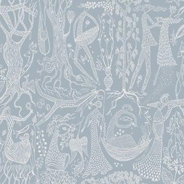Image of Papel Pintado Poème d´amour - Scandinavian designers II