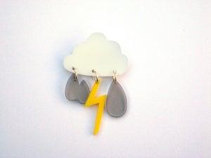 Image of cloud brooch