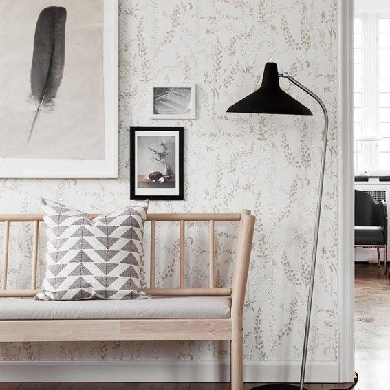 Image of Papel pintado BLADRANKER - Scandinavian designers II