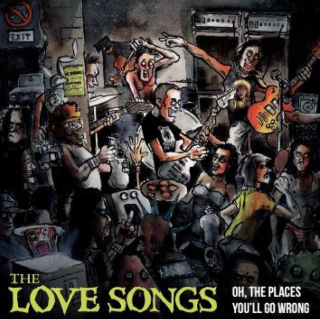 "Image of ""Oh, the Places You'll Go Wrong"" The Love Songs LP - CD"