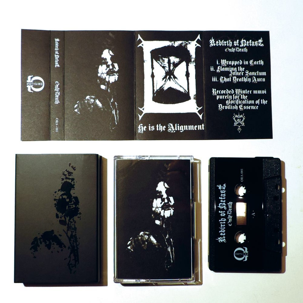 Image of Rebirth of Nefast - Only Death - Cassette (ORA-001)