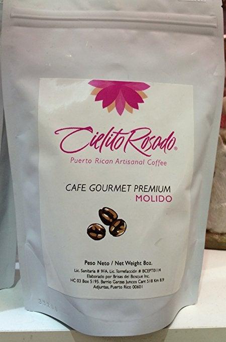 Image of Cielito Rosado Café Especial Molido 8oz Puerto Rican Gourmet Specialty Coffee