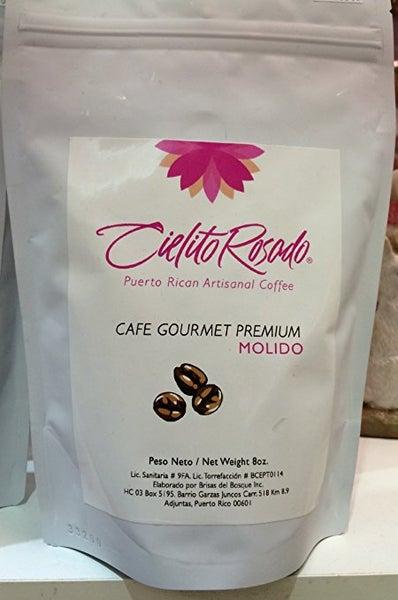 Image of Cielito Rosado Café Gourmet Molido 8oz 2Pack / Puerto Rican Gourmet Coffee