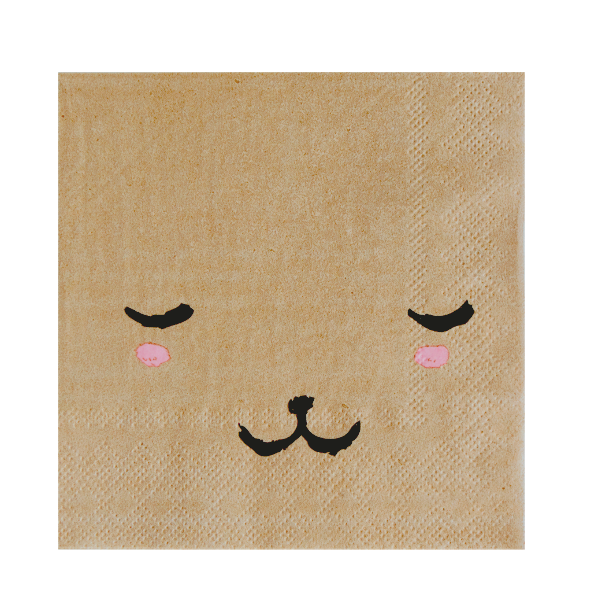 Image of Modern Camp - Bear Face Napkins