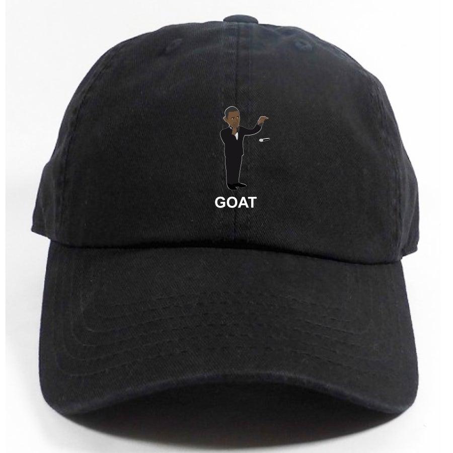 Image of 'OBAMA DROPS MIC - OBAMA GOAT' dad hat