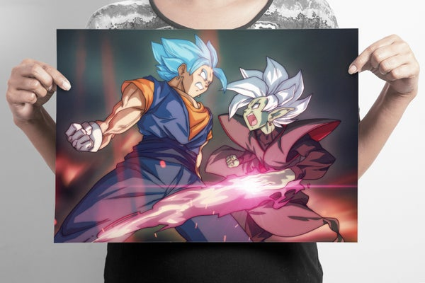 Image of Dragonball Super: Vegito Blue VS Zamasu