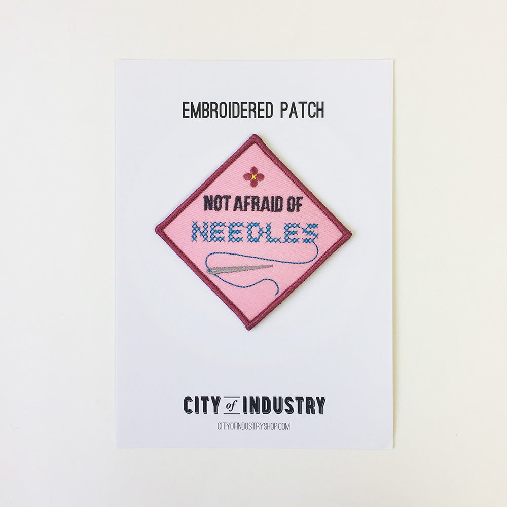 Image of Embroidery Needles Patch
