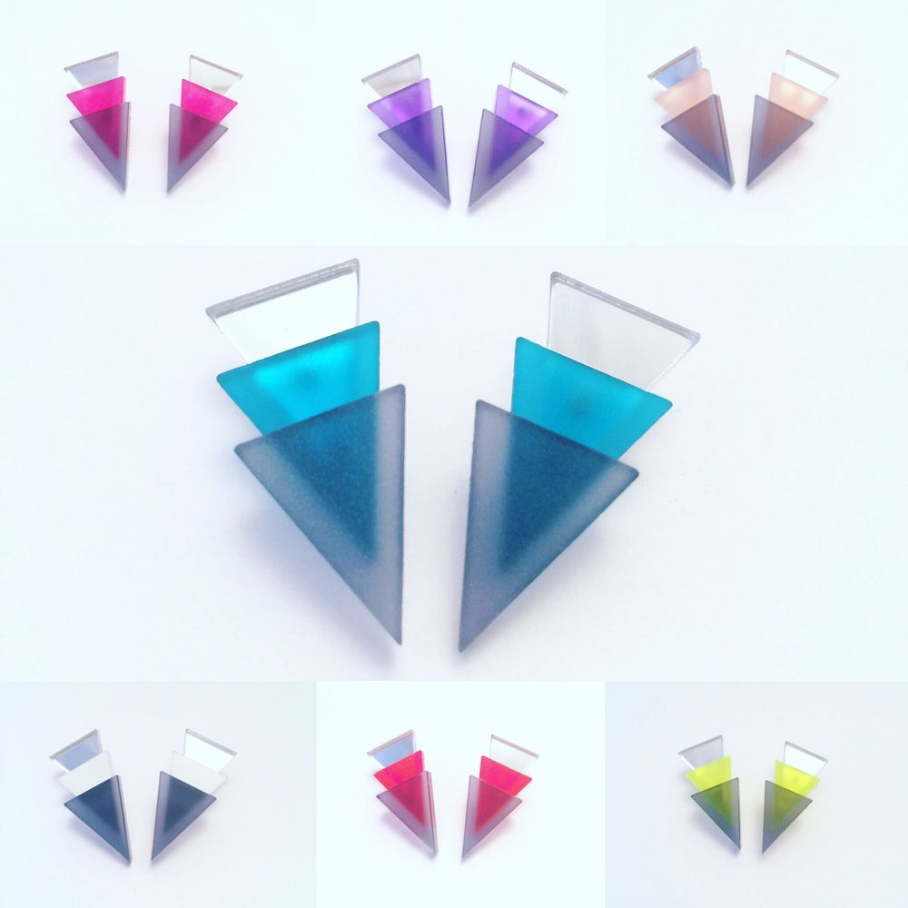 Image of Náušnice / Earrings 3T MCG