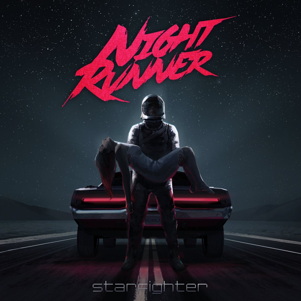 Image of Night Runner: Starfighter - Limited lenticular cover 100 copies
