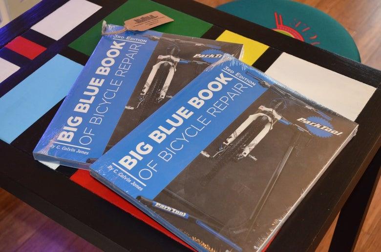 Image of Park Tool Big Blue Book of Bicycle Repair