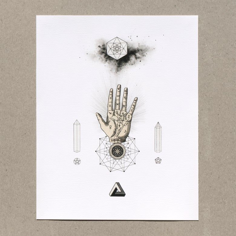 Image of The Sacred Hand | Limited Edition Giclée Print