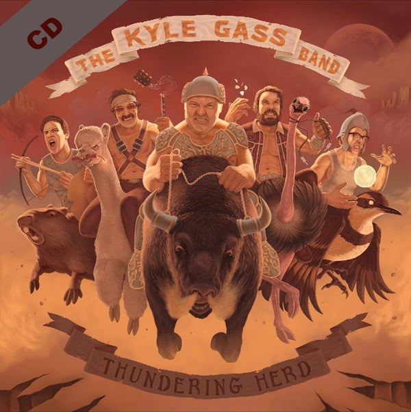 Image of KGB - Thundering Herd - CD