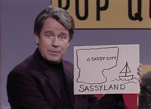Image of Sassyland- Iron on Patch
