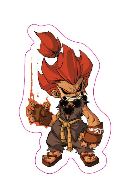 Image of Chibi Akuma Sticker
