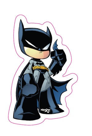 Image of Chibi Batman Sticker