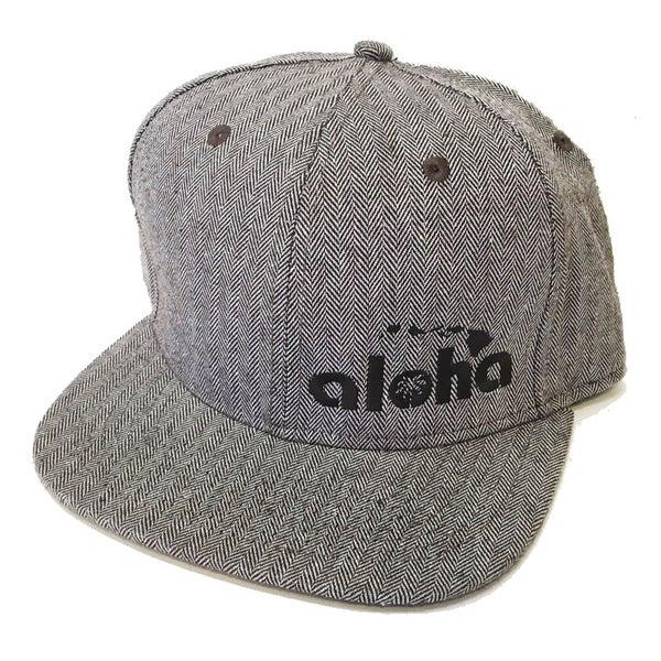 Image of Aloha Herringbone Snapback Hat