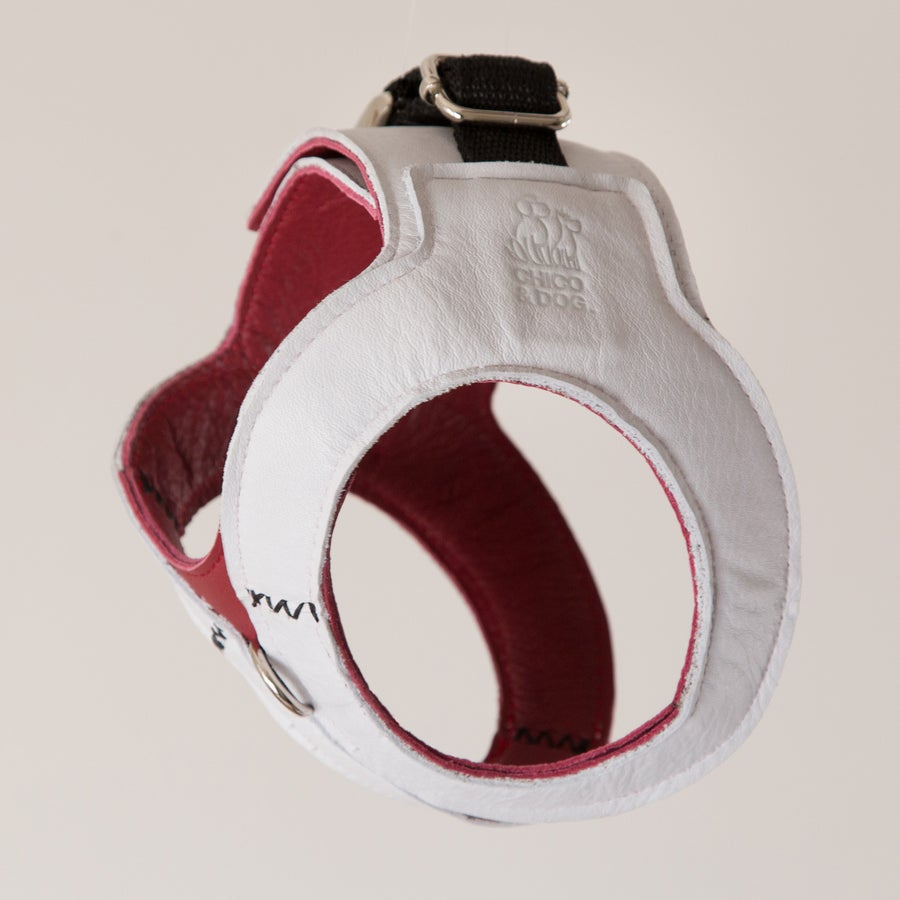 Image of Hemmingway Harness - White on Wine