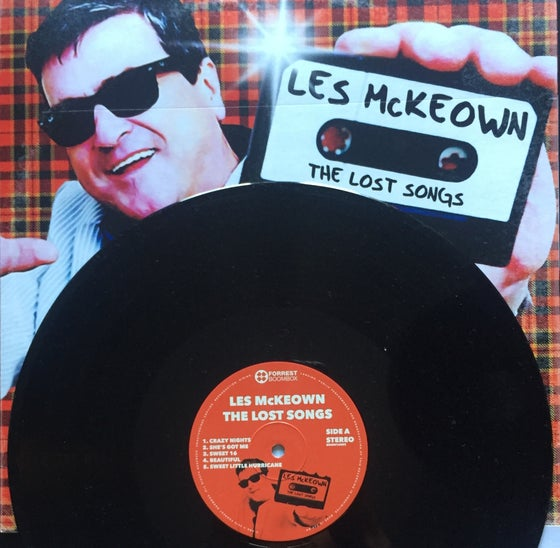 Image of Les McKeown's 'The Lost Songs' on Vinyl LP