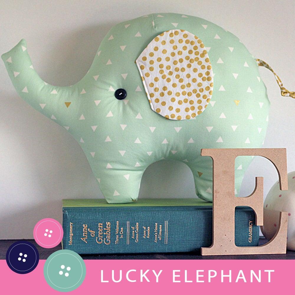 Lucky the elephant pdf sewing pattern gingercake patterns and design image of lucky the elephant pdf sewing pattern jeuxipadfo Gallery