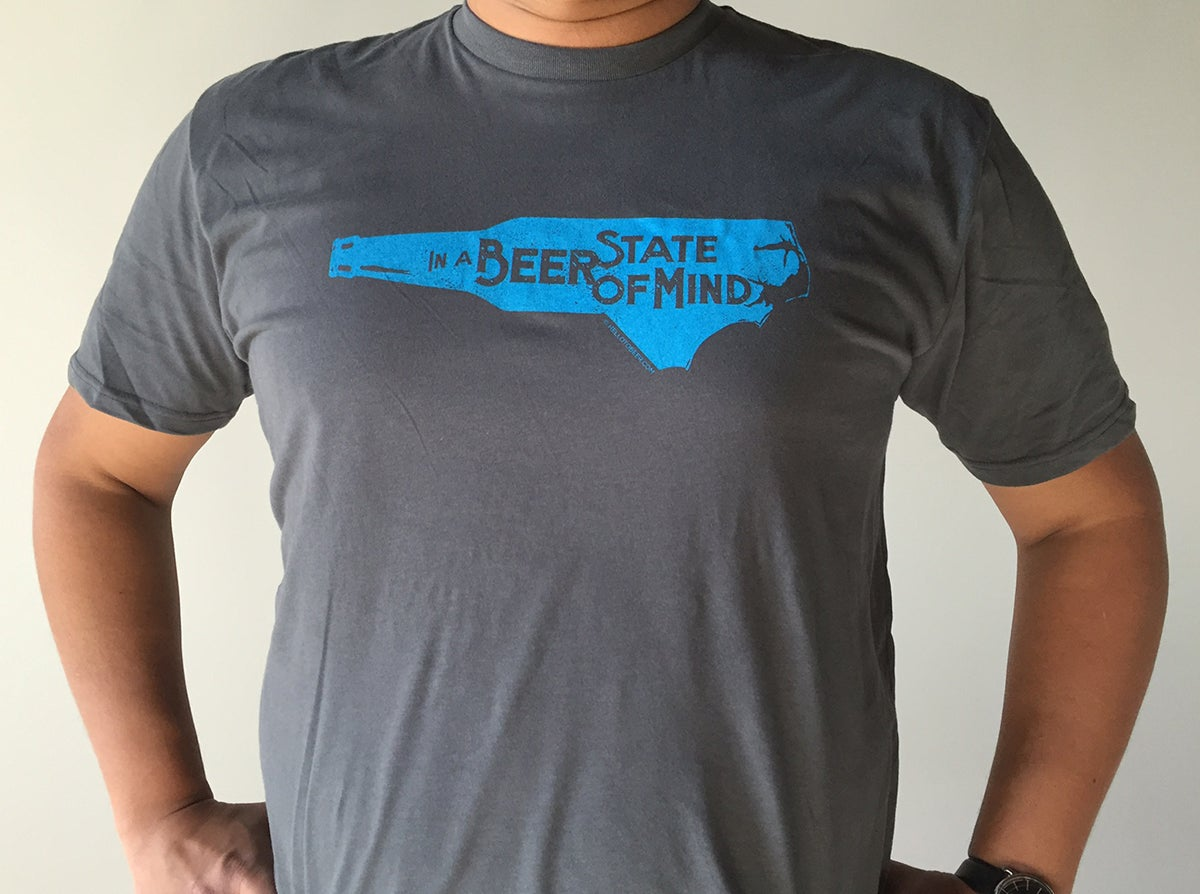 Image of In A Beer State of Mind T-shirt